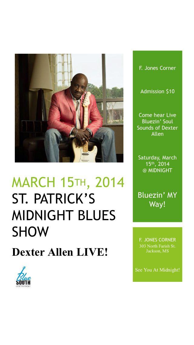 Lyric midnight blues lyrics : Deep Rush Blues Artist Dexter Allen performing LIVE in Jackson, MS ...