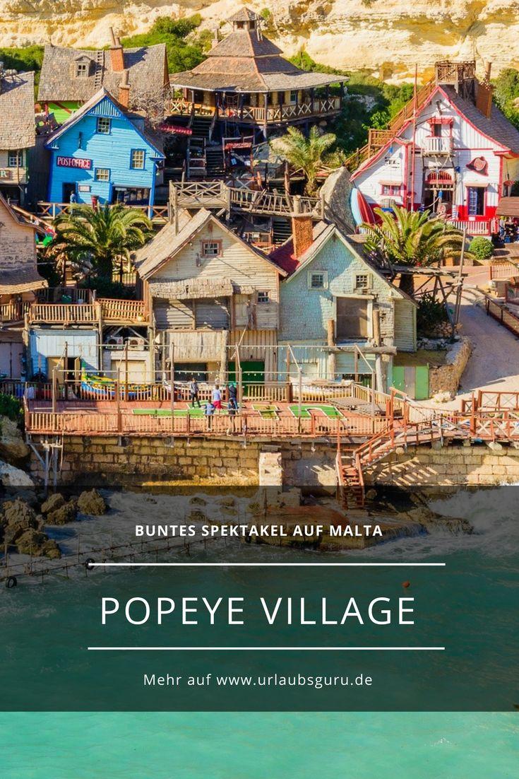 Das Popeye Village auf Malta ist so süß, dass man unbedingt mal hier gewesen sein muss. Egal ob als Erwachsener oder als Kind - es ist einfach herrlich,.