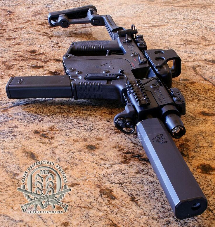 Kriss Vector Super V 45 auto, glock 21 mag. yes. . .please. . .