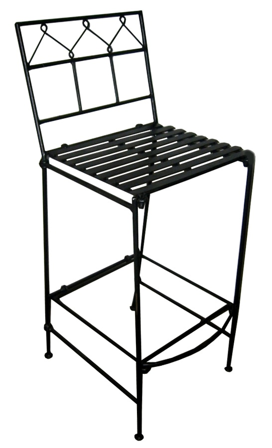 folding bar stools iron