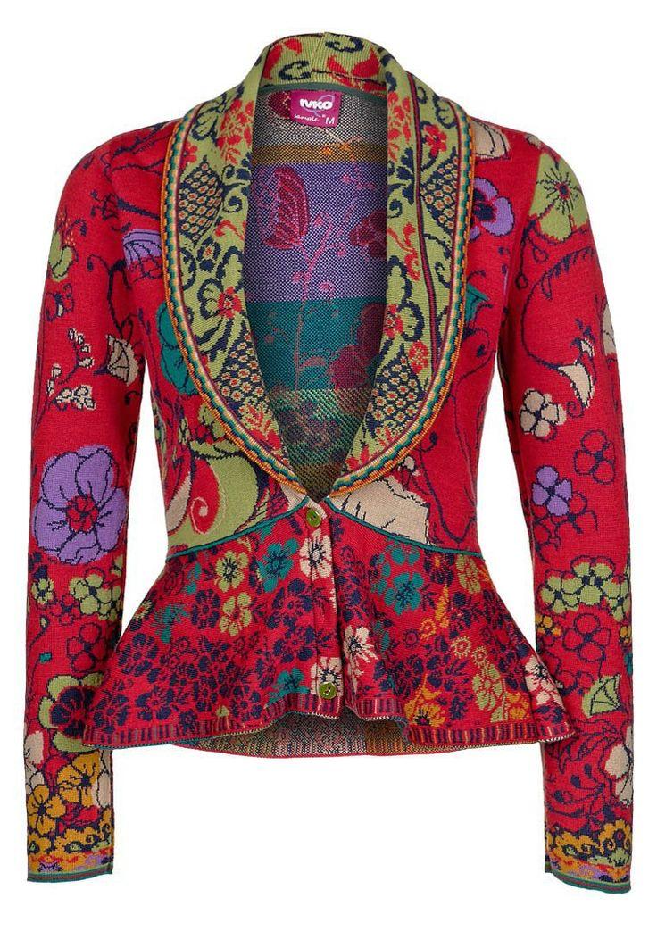 Farb-und Stilberatung mit www.farben-reich.com Ivko Cardigan - red - Zalando.co.uk