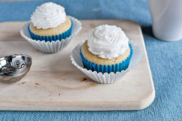 vanilla cupcake utk 2 orang