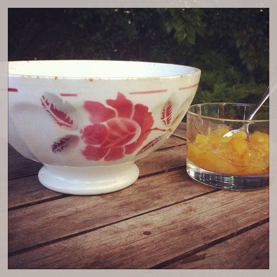 Antique french bowl bol ancien de collection par Antiquesfrenchshms, €30.00