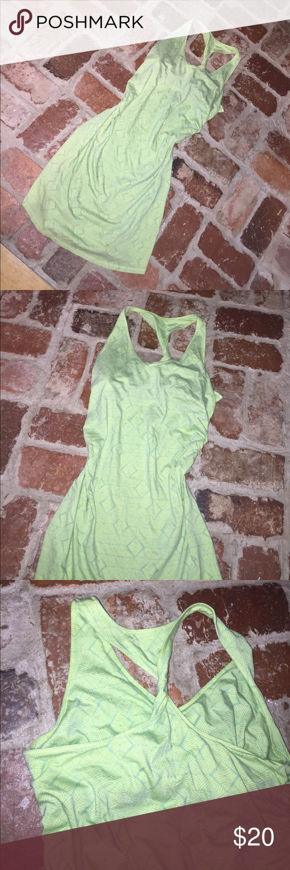 Patagonia dress Very soft and comfy!! Ranches at the waist... bra top built in Patagonia Dresses Midi