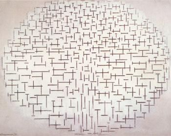 Piet Mondrian Composition No. 10 (Pier and Ocean) | For my ...