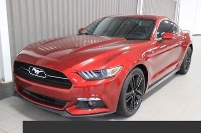 2015 Ford Mustang EcoBoost Premium Rear Wheel Drive 2.3L I4 16V Automatic