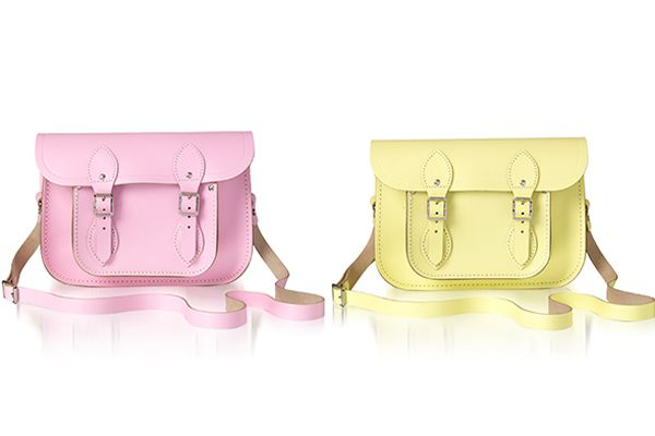 Cambridge satchels, now in springy pastels