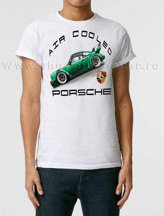 Air cooled Porsche t-shirt from Shoppinghauer.ro