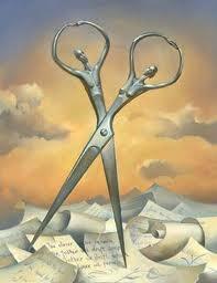 vladimir kush #art: Vladimir Who, Vladimirkush, Surrealism, Soul Mates, Scissors, Living Rooms Art, Salvador Dali, Paintings, Unusual Art