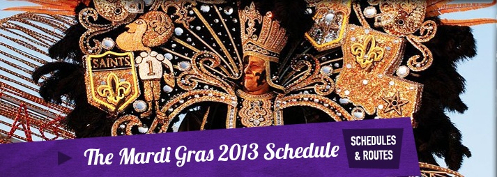 Mardi Gras Parade Routes MEET US ON THE 19TH FOR KICK OFF OF THE SRHS TEAM BUILDING WORKSHOP IN THE FRENCH QUARTER