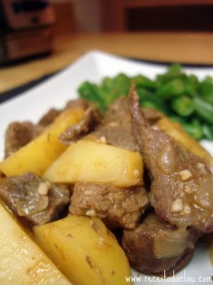 Carne com Batatas: Cumin Beef, Food, Meat, Claudia S Recipe, Recipes Sam, Timeless Recipes