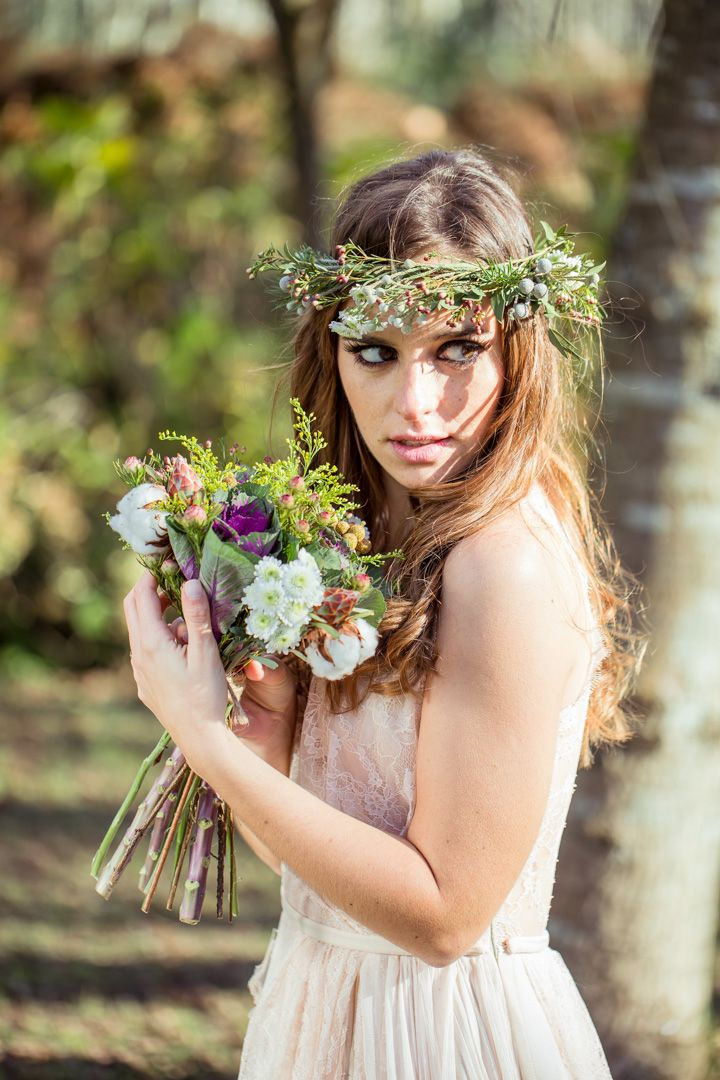 Editorial :: Rustic Woodland Wedding Styled Shoot   Por Magia - Styling, Design & Photography Events