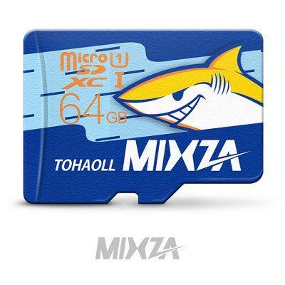 MIXZA TOHAOLL Ocean Series 64GB Micro SD Memory Card  -  64GB  COLORMIX