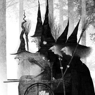 La Hermandad de Brujas del Bosque by Iban Barrenetxea