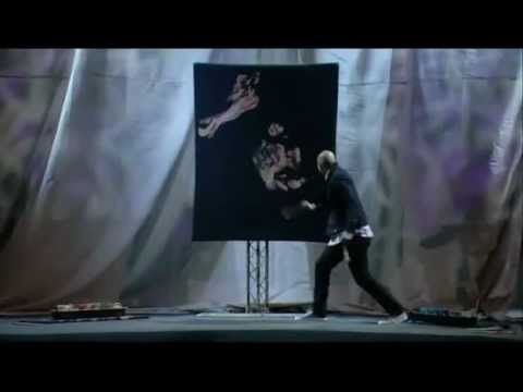 David Garibaldi - Jesus Painting (Lakewood Church) - I saw him at the Global Leadership Summit and he truly is using his gift to glorify God.  Watch the whole thing - it's not what you expect!!