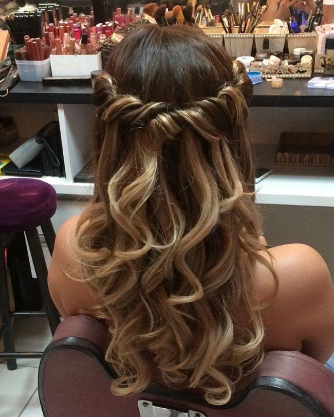 Pin By Maricruz Gonzalez On Peinado In 2018 Pinterest Prom Hair Hair Styles And Hair Prom Hairstyles For Long Hair Long Hair Styles Hair Styles
