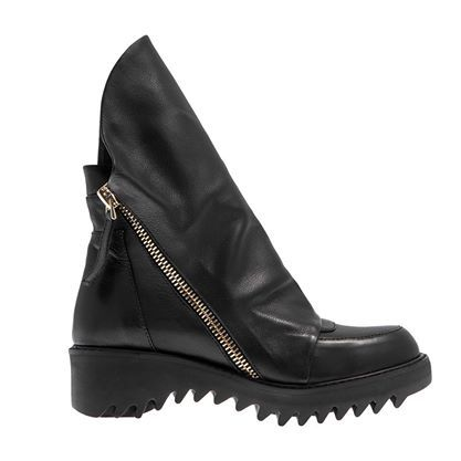 A/W 2014-15 #Biker #shoes #Fred #dedicated #collection #outfit #fashion #style #black #leather