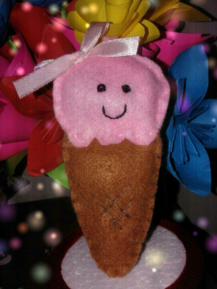 Ice cream.. mmmm yummy