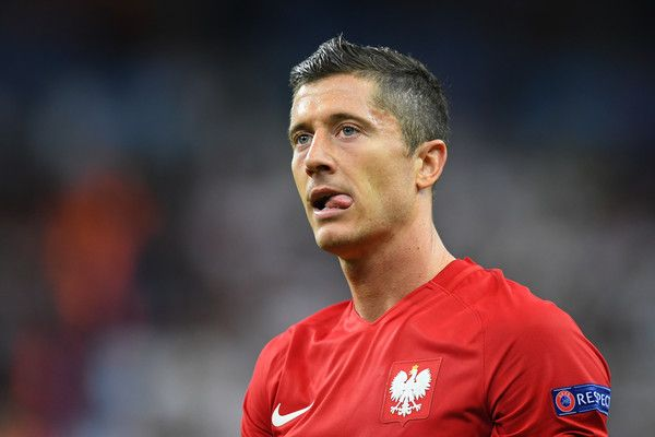 Robert Lewandowski of Poland reacts after his team's scoreless draw in the UEFA EURO 2016 Group C match between Germany and Poland at Stade de France on June 16, 2016 in Paris, France.