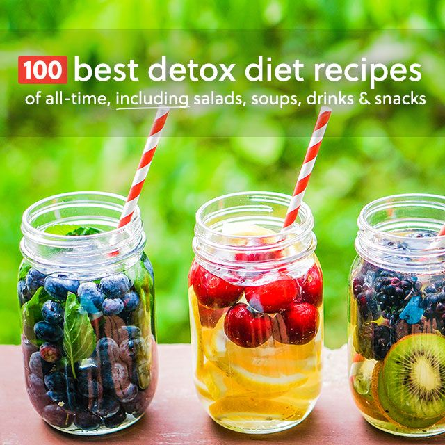 This is the holy grail for detox diet recipes! Includes detoxifying salads, soups, drinks, desserts and snacks.