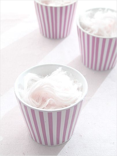 Candy Clouds Company Serving ideas (like the cups.....what else could we put in them?)