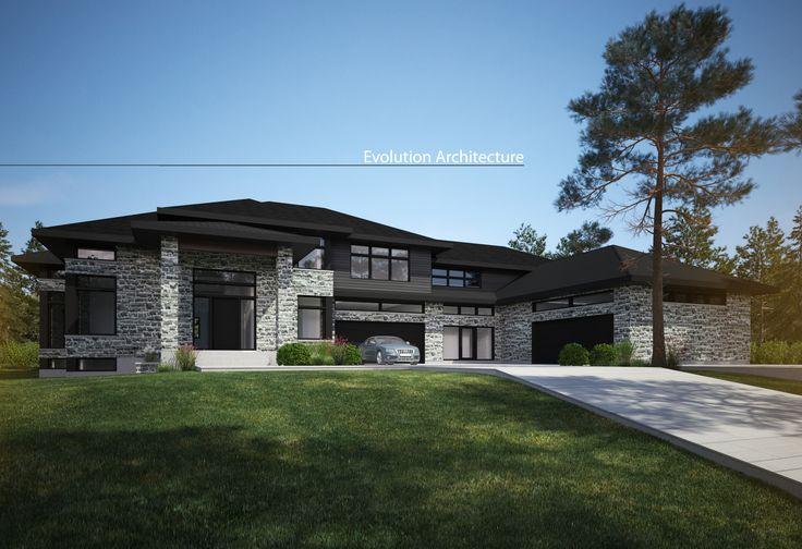 Evolution Architecture, maison contemporaine, création exclusive E-913