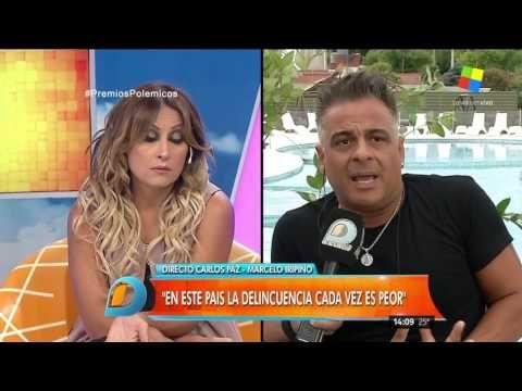 Marcelo Iripino angustiado por el robo a su casa