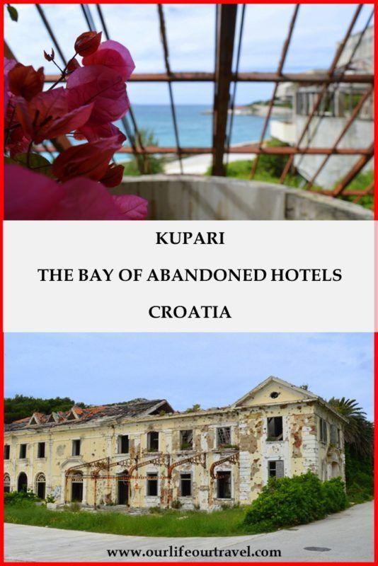 Visiting the Bay of Abandoned Hotels in Kupari, Croatia
