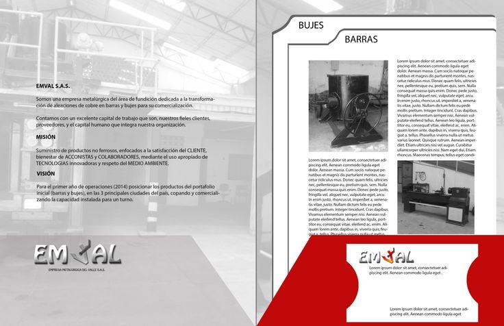 parte interna brochure y tarjeta opcion