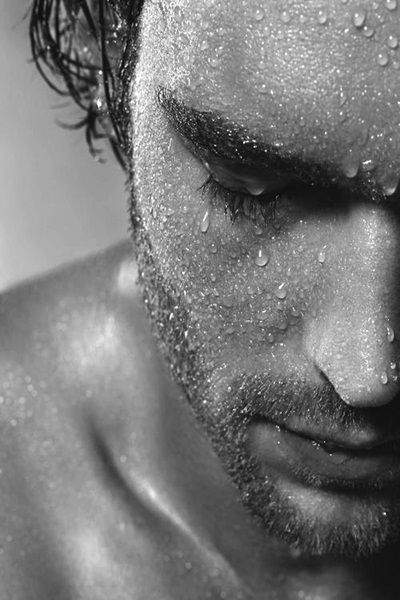 Via Tumblr -- Portrait - Close-up - Black and White - Photography