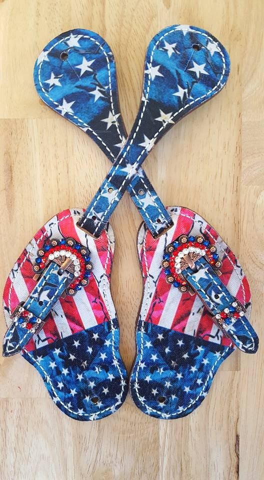 American spur straps