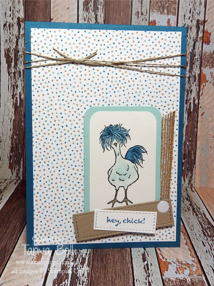 Best 72 Cards...Hey Chick ideas on Pinterest   Bird cards, Card ...