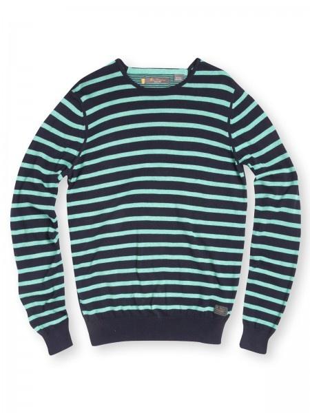 I love stripes and boys who take risks
