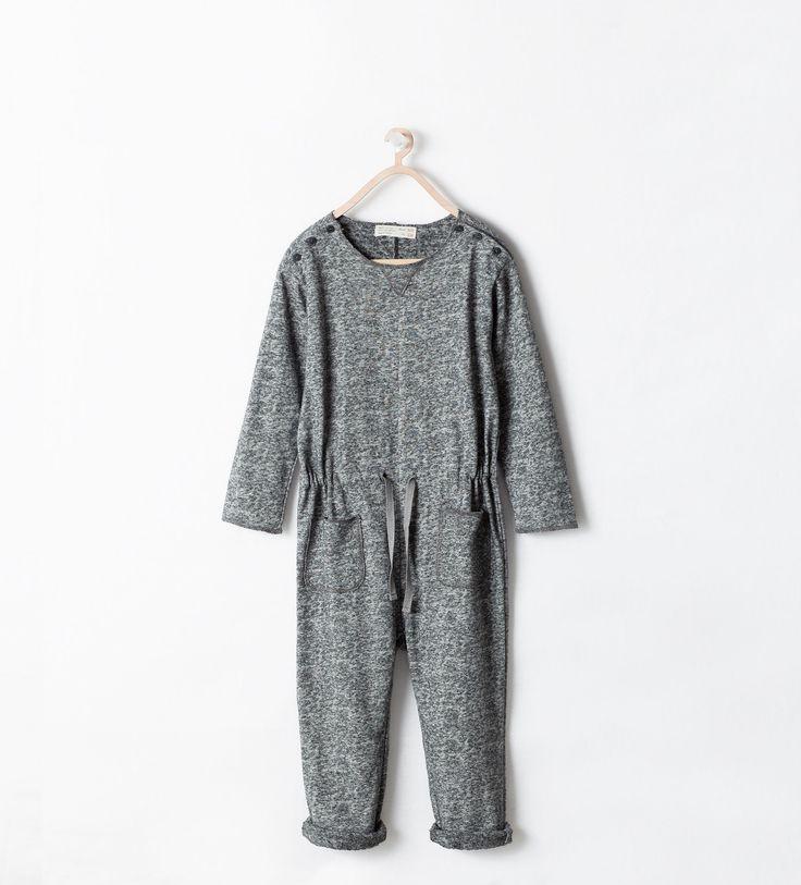 LONG SLEEVE JUMPSUIT from Zara