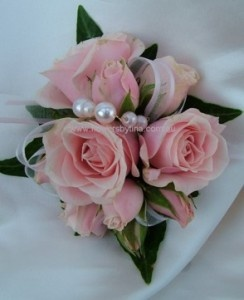 Pearl corsage