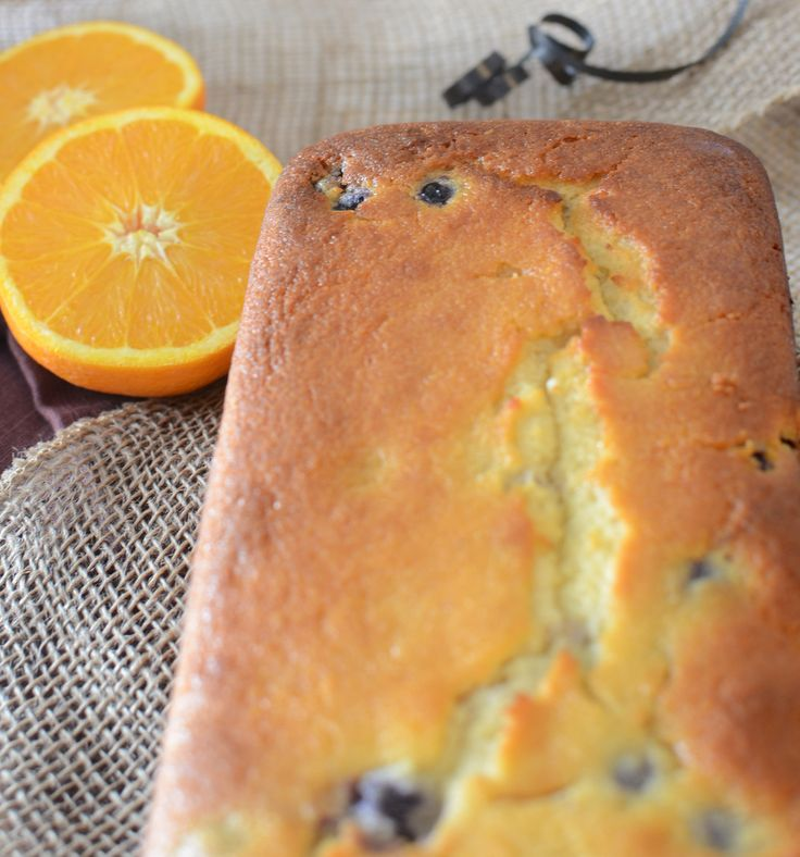 Orange Blueberry Loaf Cake is super soft and tastes wonderful. The combination of citrus and berries is very irresistible.