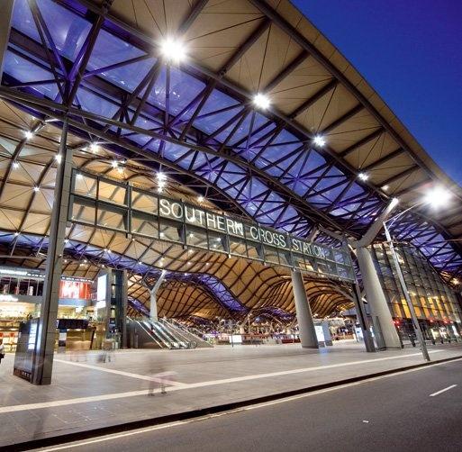 southern cross station melbourne australia train depots. Black Bedroom Furniture Sets. Home Design Ideas