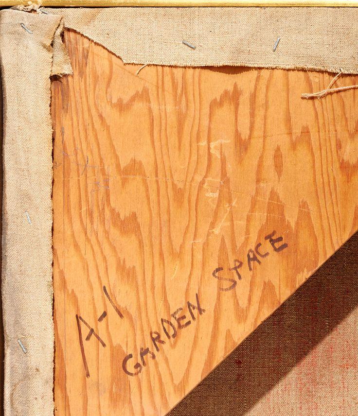"Morris Shulman ""Garden Space #1"" Alkyd Resin on Canvas, 1971 image 8"