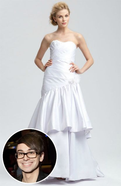 Project Runway alum Christian Siriano's wedding dress collection for Nordtrom #weddings