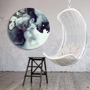 Boron And Ice 2 - Acrylic Art