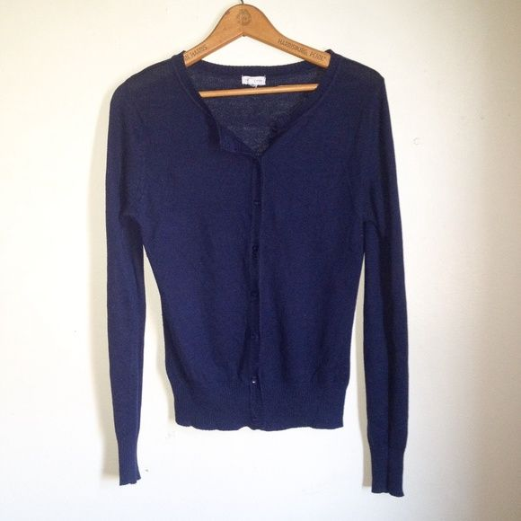 Zenana Outfitters Navy Blue Cardigan Sweater Brand: Zenana Outfitters Size: Medium Color: Navy Blue  This cardigan is in good condition. It features long sleeves as well as a ribbed cuffs and hem. It is lightweight.  No trades. Please refrain from asking. Zenana Outfitters Sweaters Cardigans