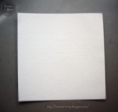 """☼ Diary of my fantasy: МК """"Бумага для альбома"""" или """"Что можно сделать с обычной бумагой"""""""