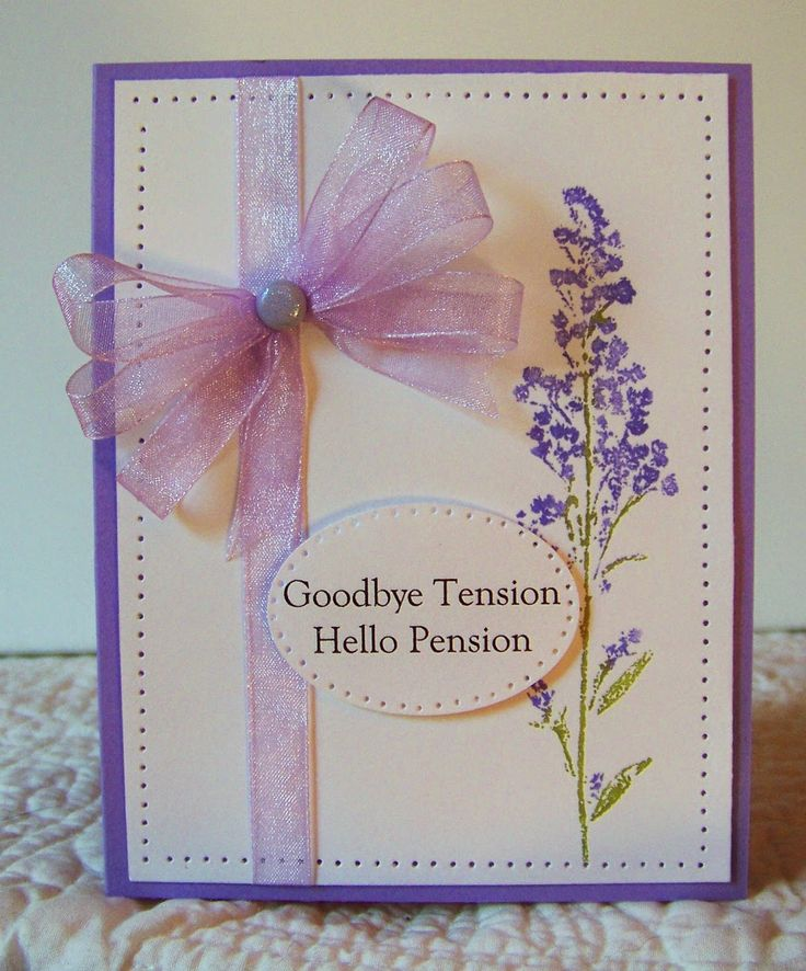 Beverly - Congratulations on Your Retirement! The Design Team got together and made cards for Beverly's retirement! See all the cards here at http://classycardsnsuch.blogspot.com/2014/09/congratulations-on-your-retirement.html