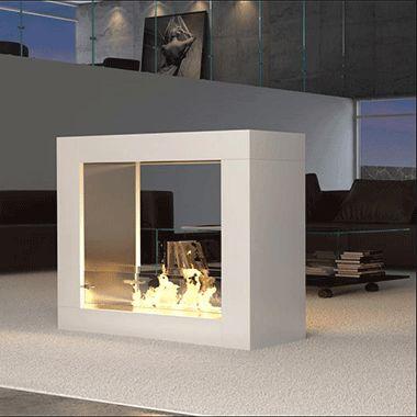 Bio ethanol fires - Bio Fire Box - SYDNEY Bio ethanol fireplace, £2,065.00 (http://www.fireboxuk.com/products/sydney-bio-ethanol-fireplace.html)