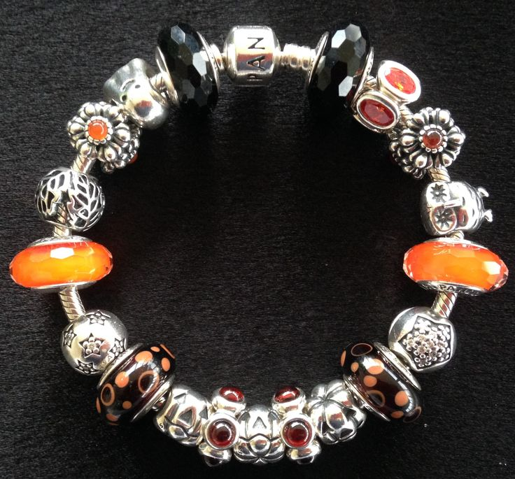 pandora bracelet charms halloween