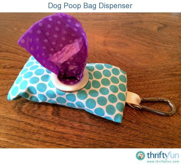 We recently bought a package of dog poop bags with a dispenser. The dispenser broke almost immediately, leaving us with a bunch of bag rolls without a way to carry them with us. I designed this easy to make fabric pouch that clips to our leash.