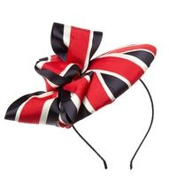 Superbly eccentric hat - may have to buy for the Jubilee!
