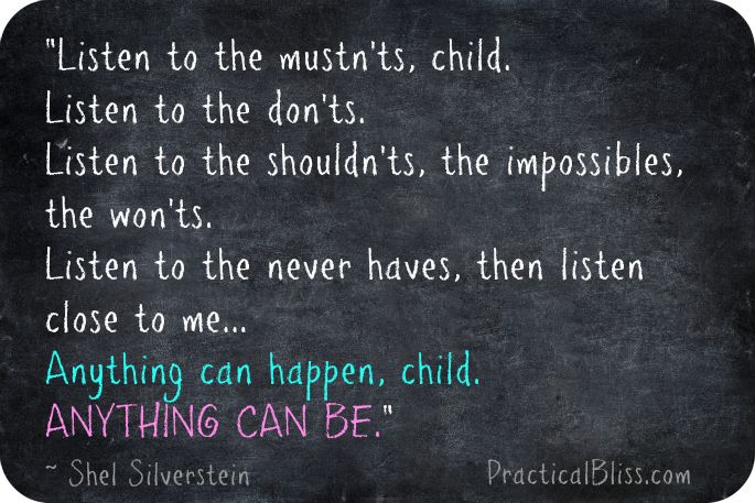 Shel Silverstein Quotes About Education: Shel Silverstein Quotes About Life. QuotesGram