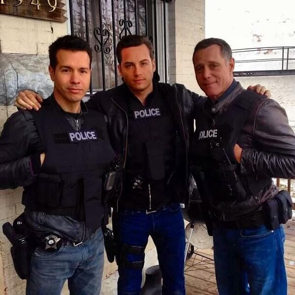 Antonio Dawson, Jay Halsted, and Hank Voight. Chicago P.D Wednesday's at 10/9 central on NBC