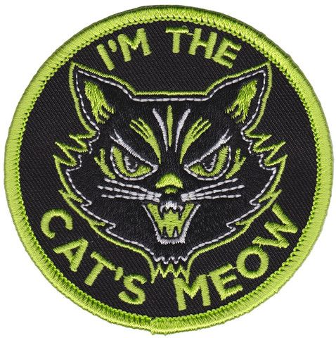 Cats Meow Patch